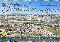 Jerusalem um 1900 - Fotos neu restauriert und koloriert (Wandkalender 2022 DIN A2 quer): Die Heilige Stadt Jerusalem zwischen 1890 und 1900 erwacht in lebendigen Farben zu neuem Leben. (Monatskalender, 14 Seiten )