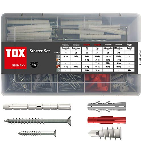 TOX Standard-Sortiment Starter Set, 264 tlg, 1 Stück, 094901101
