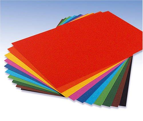 KnorrPrandell 8260117 Tonpapier 10 Blatt 130 g/m², 22 x 33 cm, Sortiment