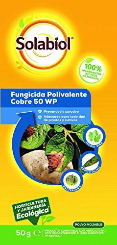 Fungicida Polivalente de acción preventiva y curativa a base de cobre