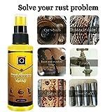 NGD Entkalkungsspray Entrostungsspray Autopflege Reinigung 120ML Entkalkungsmittel zum Versenden von Tüchern