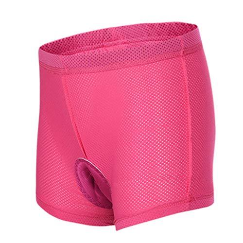 SHUANGA - Radsportunterwäsche für Damen in 5-rosa