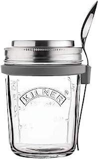Kilner 0025.899 Breakfast Jar Set, Glass
