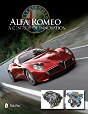 Image of Alfa Romeo: A Century of. Brand catalog list of Schiffer Publishing.