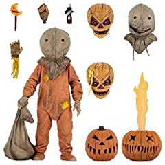 From the delightfully deranged 2007 cult classic film Trick R Treat, Sam joins NECA's Ultimate line! The mysterious trick-or-treater gets a deluxe release with all-new, highly articulated body and accessories galore, including 4 interchangeable heads...