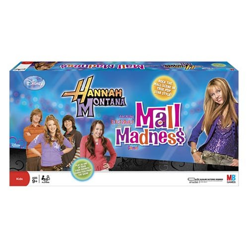 Mall Madness Hannah Montana