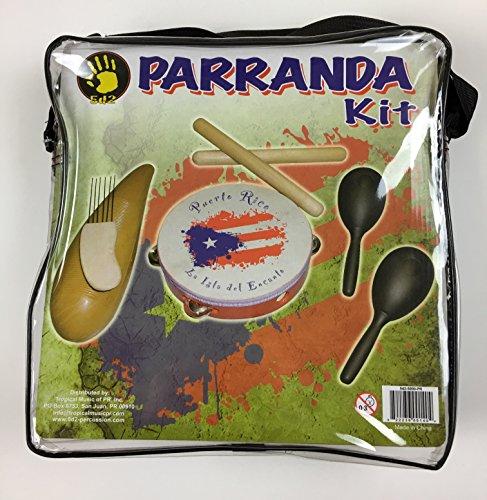 5d2 Parranda Kit with Puerto Rico Flag