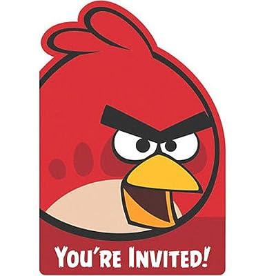 Shindigz Angry Birds Invitations