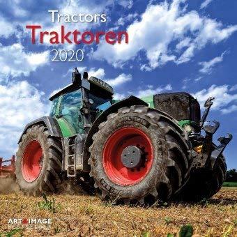 Traktoren - Broschurkalender - Kalender 2020 - teNeues-Verlag - Art & Image - Wandkalender mit Poster und Platz für Eintragungen - 30 cm x 30 cm (offen 30 cm x 60 cm)