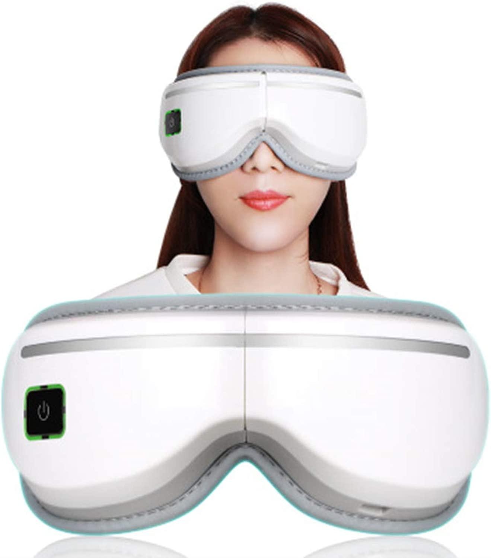 アイマッサージャーポータブルエレクトリックミュージックアイマスクマッサージャー空気圧アイマッサージャー熱圧縮空気圧アイバッグとダークサークル