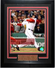 Steiner Sports MLB Boston Red Sox Jed Lowrie #12 Red Sox 'Feel The Game' Framed Photograph