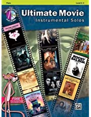 Ultimate movie instrumental solo - flûte traversiere - ultimate pop instrumental solos + CD: Flute, Book & CD (Alfred's Instrumental Play-Along)