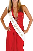 Ci-ONE Prom King and Prom Queen Sashes Bride to Be Sash Birthday Party Sash Hen Party Wedding Decorations Party Favors Accessories