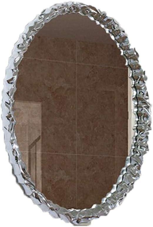 WXF Wall Mirror Decor Round Modern Large Oval Glitz SALENEW Baltimore Mall very popular Glass