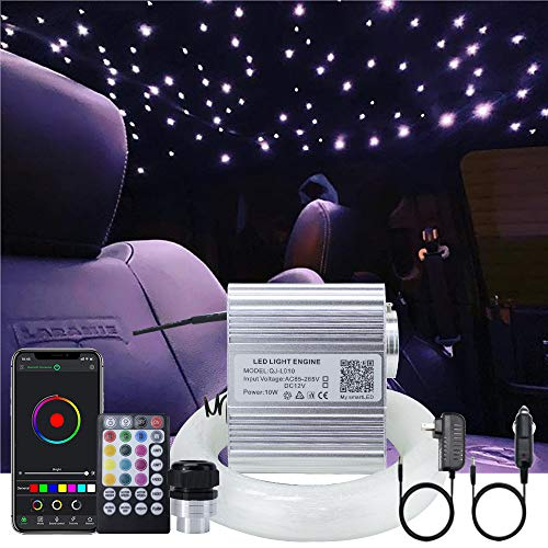 AKEPO Upgraded APP 10W Twinkle Fiber Optic Lights kit with Music Mode for...