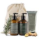 Jean & Len Jean & Len Moisturising Rosemary & Ginger Shampoo, Conditioner, Conditioner, Dry and...