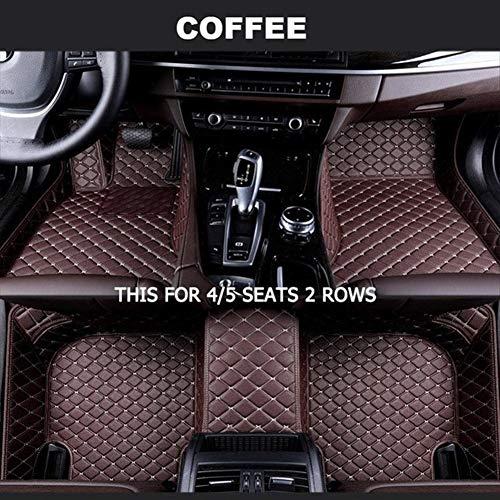 ROYAL STAR TY Personalizadas Car tapetes for Volkswagen Todos los Modelos de VW Passat del Polo Golf Jetta Tiguan Touran Touareg EOS (Color Name : 5 Seats 2 Rows)