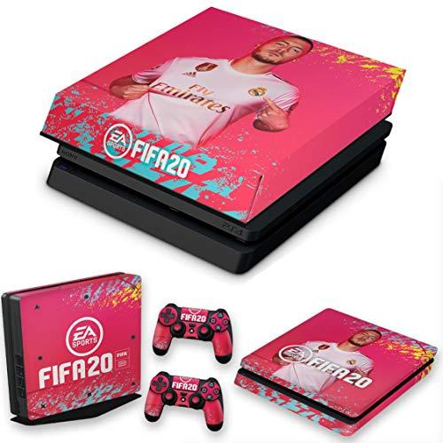 Capa Anti Poeira e Skin para PS4 Slim - Fifa 20