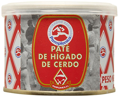 PAMPLONICA paté de higado de cerdo lata 200 gr