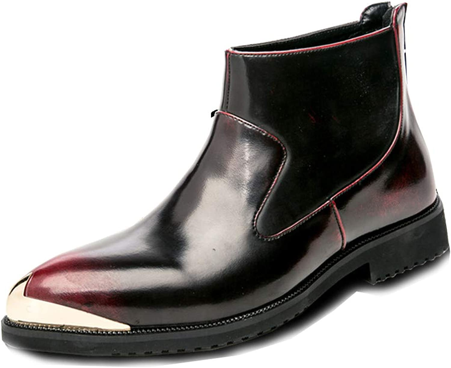 Men's Chelsea Boots Classic Martin Boots Business Casual Boots Ankle Boots Combat Boots Riding Boots