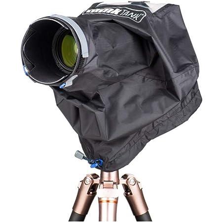 Lente de la Camara y Equipo fotogr/áfico Pequena 43 x 37 cm Movo CRC17 Protector de Lluvia para Las Tormentas para C/ámaras DSLR