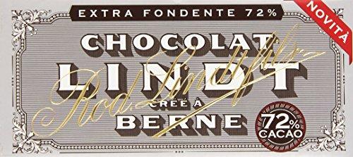 Lindt - Cioccolato Extra Fondente 72% - 6 tavolette da 100 g [600 g]