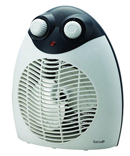 Garza Vesta - Calefactor termoventilador eléctrico de sobremesa, potencia 2000W