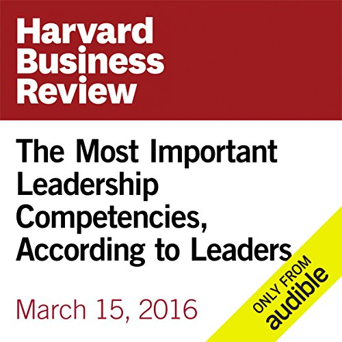 The Most Important Leadership Competencies, According to Leaders Around the World cover art