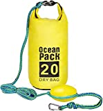 2-in-1 Sand Anchor & Waterproof Dry Bag for PWC, Kayaks & Small Boats (20 FT)