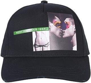 DSQUARED2 Mens BCM020708C000012124 Black Cotton Hat