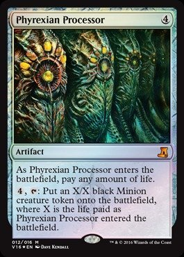Magic The Gathering - Phyrexian Processor (012/016) - from The Vault: Lore - Foil