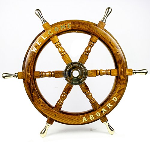 Nagina International Welcome Aboard Embedded Premium Handcrafted Nautical Pirate
