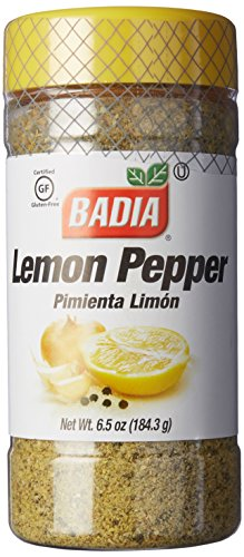 Badia Lemon Pepper, 6.5 Ounce
