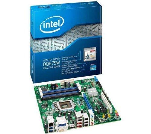 Intel DQ67SW (B3) Intel Q67 Mainboard Micro ATX Sockel 1155 #38195