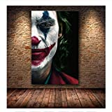 TELEGLO Hollywood Joaquin Phoenix Poster Drucke Joker Poster Film Comic Kunst Leinwand Ölgemälde Wandbilder Für Wohnzimmer Wohnkultur 40X60CM