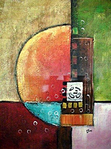 "Rflkt ""Four Seasons – Abstract"" - Pittura a Olio Dipinta a Mano su Tela - Ottima qualità e artigianalità"