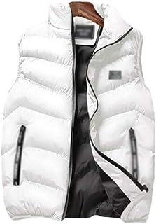 Cotton Lightweight Quilted Sleeveless Gilets Vest Winter Vest Warm Thicken Windproof Sleeveless Jacket Lightweight Softshe...