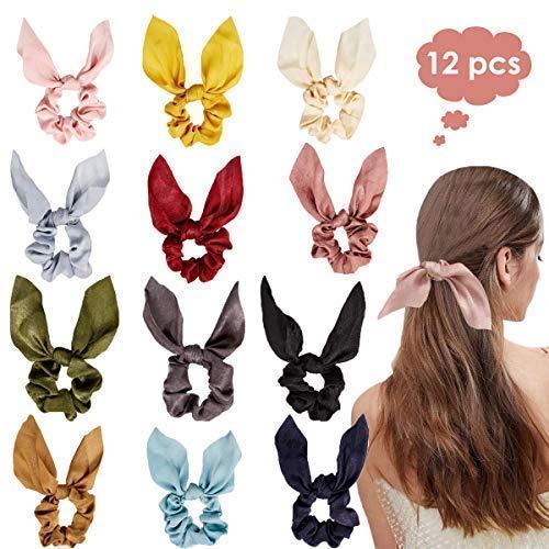 HomeChi paquetes de cintas para el cabello, bandas para el cabello de gasa elástica para los oídos de…