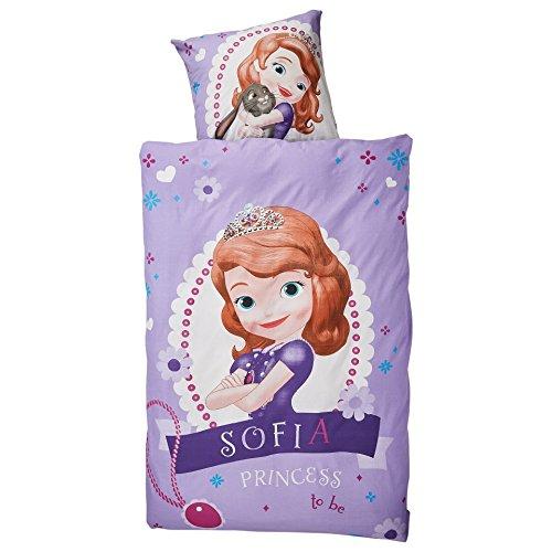 Original Sofia die Erste Linon-Bettwäsche Garnitur 135x200 80x80 Baumwolle Princess to be