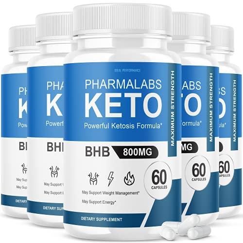 (5 Pack) Pharmalab Keto Pills Pharm…