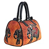 BANG PRICE Multipurpose Printed Designer Duffle Tote Speedy Handbag for Girl's, Women's (Multicolor)