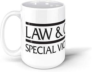 calanaram SVU Logo 1 law and order svu 15Oz Ceramic Coffee Mugs 2586366319936