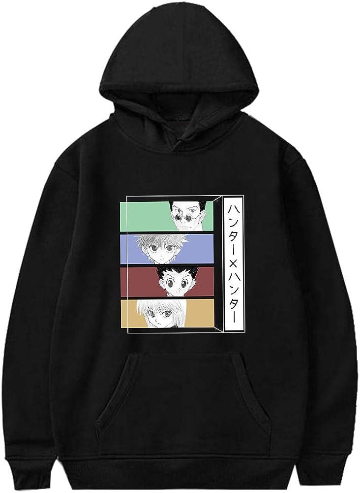 Saicowordist Hunter x Hunter Sweat /à capuche anime 3D num/érique imprim/é couleur 3D Pull pour filles Couple Sweat-shirt Anime Fans Cadeau