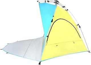IDWOI-tält pop up strandtält UV-skydd solkräm utomhus bärbar familj campingtält, 2 färger