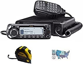 Bundle - 3 Items - Includes Icom ID-4100A 50W VHF/UHF Dual Band D-Star Transceiver with The New Radiowavz Antenna Tape (2m...
