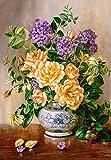 Castorland C-103928-2 Floral, 1000 Teile Puzzle, bunt -