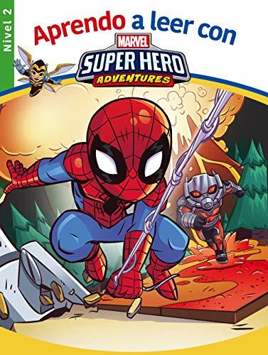 Aprendo a leer con los superhéroes Marvel - Nivel 2 (Aprendo a leer con Marvel)