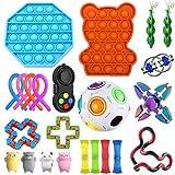 HCHL Juego de Juguetes Niños Autismo, Pelota antiestres, Pelota antiestres, Juguetes sensoriales Autismo, Fidget Toys Box, Pelotas antiestres para niños Regalo