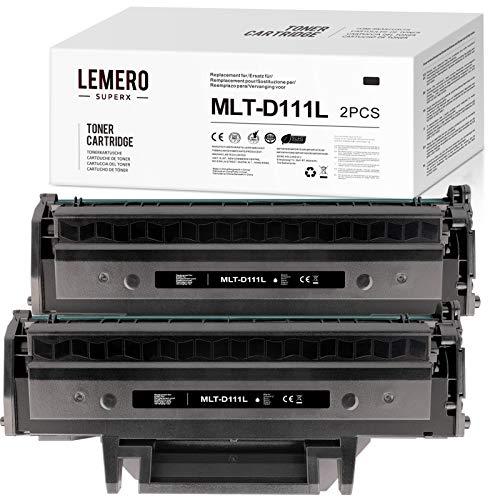 LEMERO SUPERX MLT-D111L Toner Samsung MLT-D111S MLT-D111L 111L Kompatibel für Samsung Xpress M2070W M2026W M2070FW M2026 M2020 M2022 M2022W M2020W