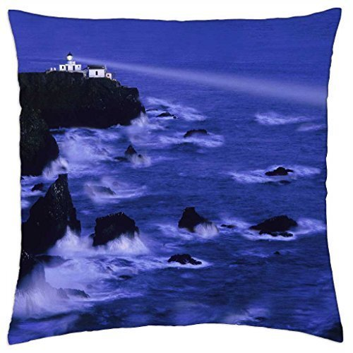 Generic Point Bonita Lighthouse California marin County Majestic Beacon of Light - Throw Pillow Cover Case,Size:16x16 Inches/40 cm x 40 cm
